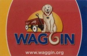 WAGGIN library card